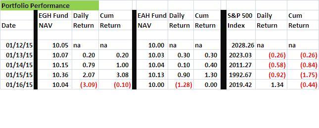 Fund Performance